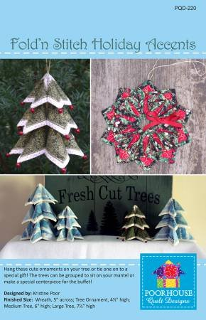 Fold'N Stitch Holiday Accents Pattern*