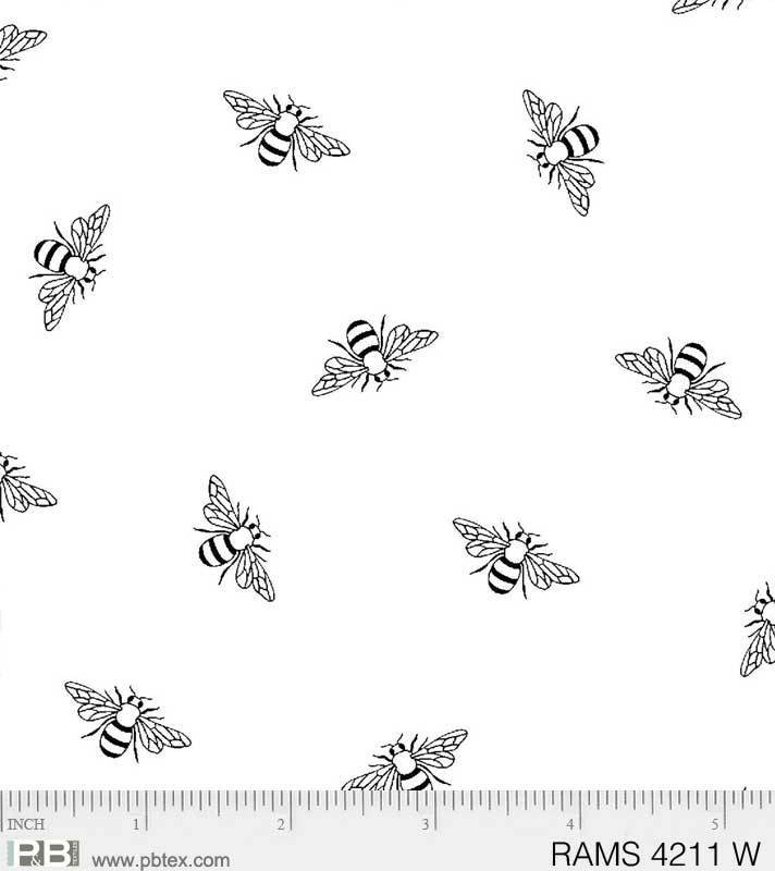 Bees White on White Ramblings