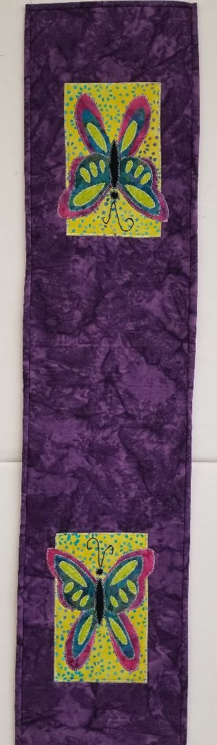 Butterfly Runner Simple Spring Fabric Kit 9 x 40