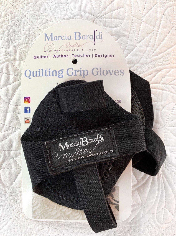 Quilting Grip Gloves Black