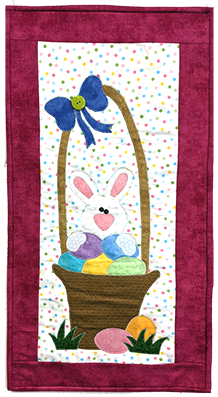 Spring Parade Bunny Fabric Kit 14x28