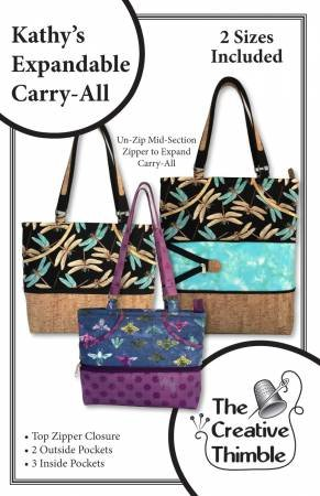 Kathy's Expandable Carry-All Pattern*