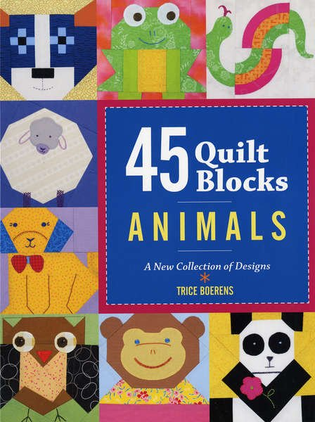 45 Animal Quilt Blocks