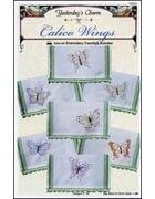 Calico Wings Iron-On Embroidery