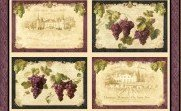 Uncorked Placemat Panel