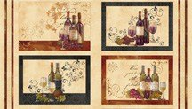 Wine A Little Placemat Panel