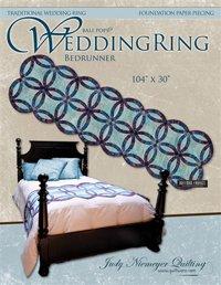 Wedding Ring Bed Runner