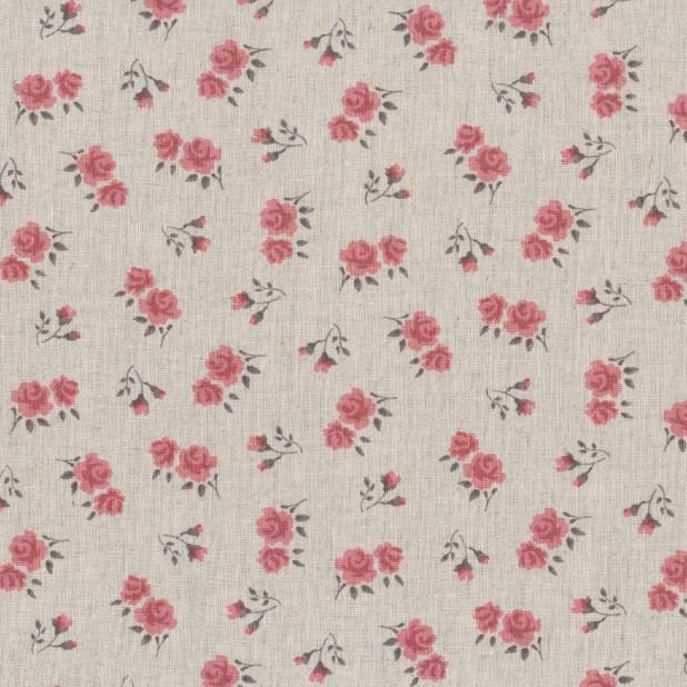 Stof - Shabby Chic - Pink floral