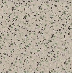 Stof - Shabby Chic - Mini Green floral