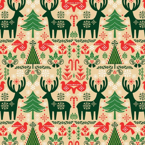 Seasons Greetings 2016 - Reindeer & Trees