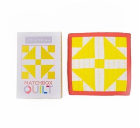 Matchbox Quilt Kit Yellow
