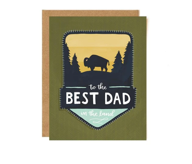Card - Best Dad Patch