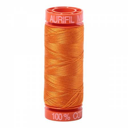 Aurifil 50wt 220yds - 1133 -  Bright Orange