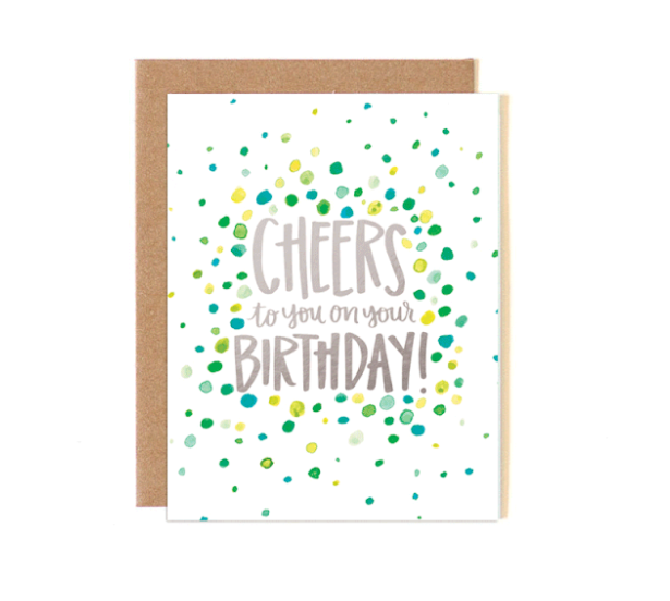 Card - Dot Cheers Birthday