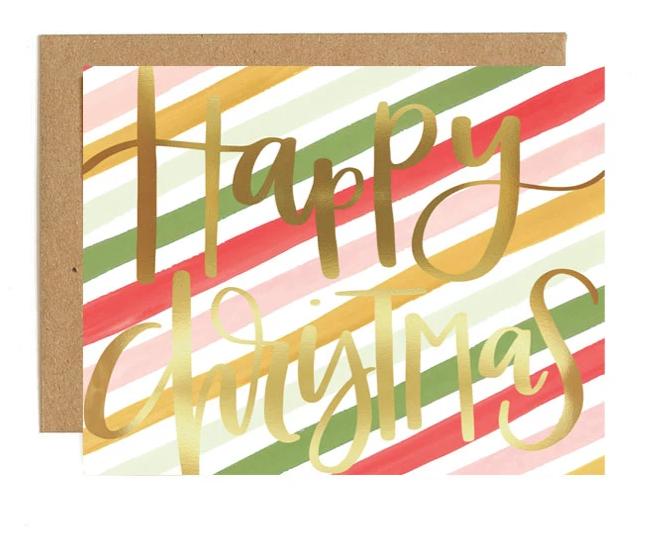 Card - Happy Christmas