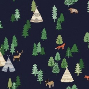 May the Forest Be With You - Campsite - Navy