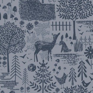 May the Forest Be With You - Moonlit Forest - Slate