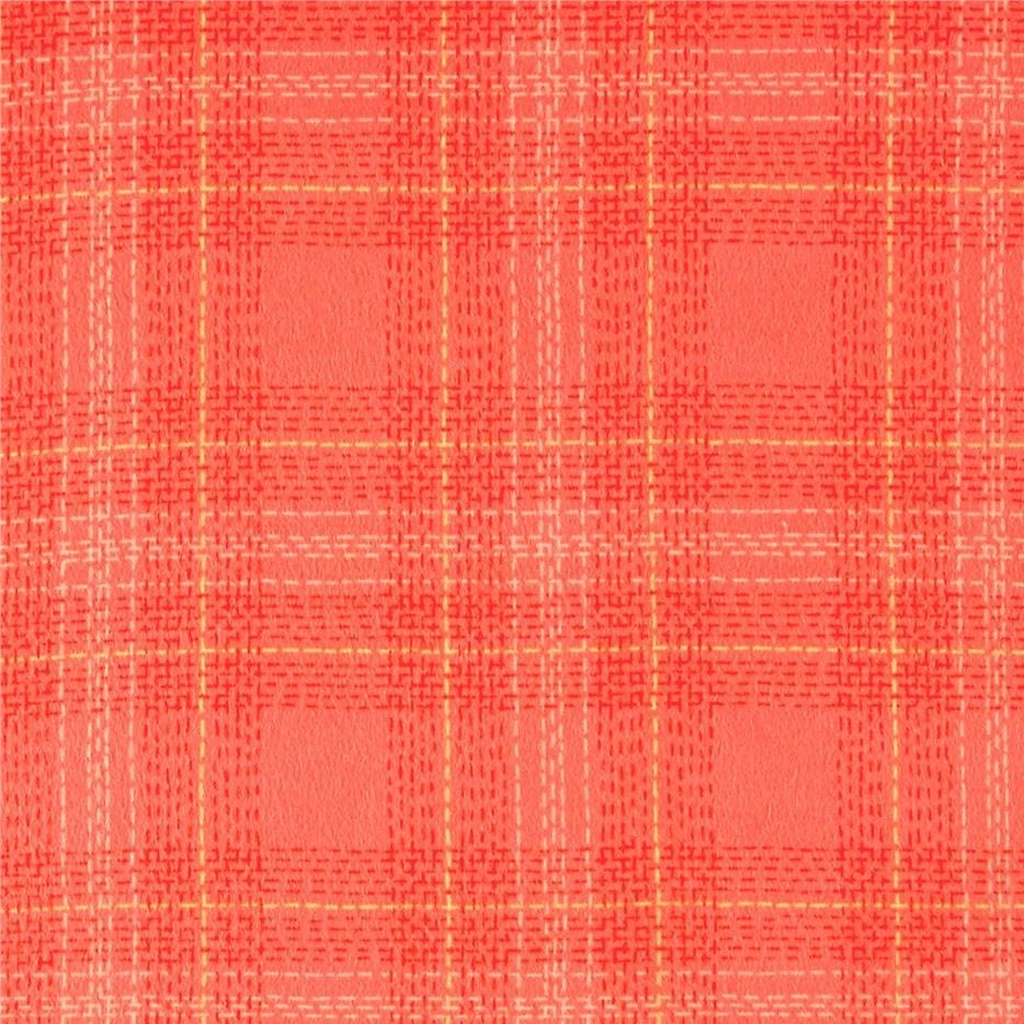 Dear Stella - Dash Plaid Flannel - Grenadine