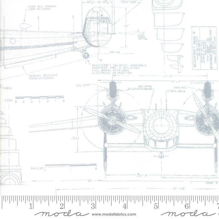 Modern BG More Paper - 1670 12 - White