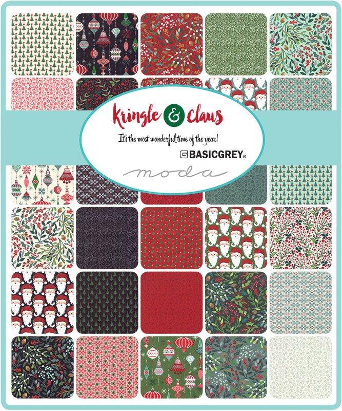 BasicGrey - Kringle Claus - Fat Quarter Bundle