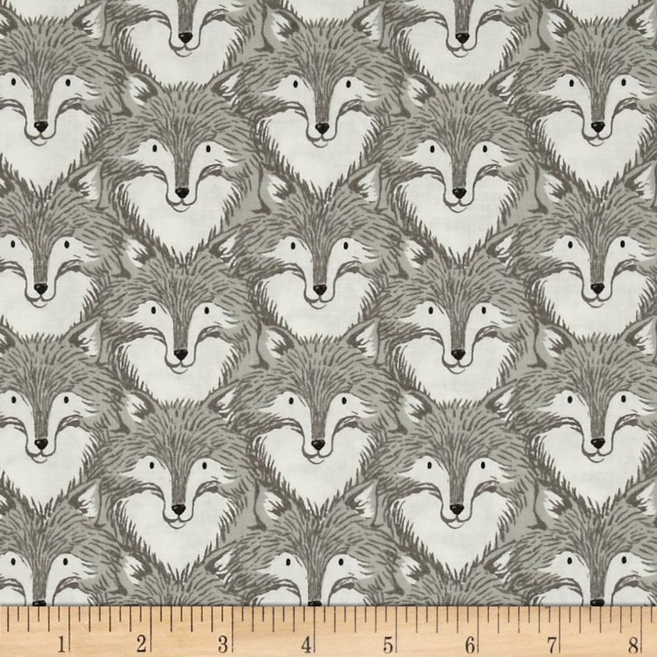 Sarah Watts - Magic Forest - Foxes Grey