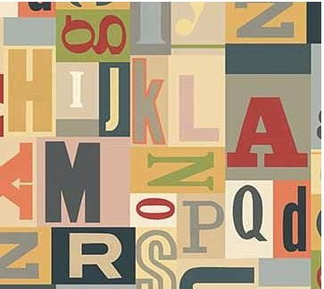 Letterpress - Typography on Cream