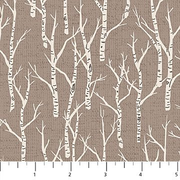 Northcott - Woodland Pitter Patter - Birch Trees