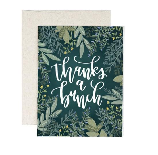 Card - Herb Thanks