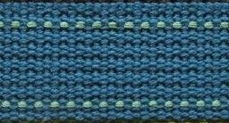 Echino 25mm Webbing - Matte Blue and Seafoam Green