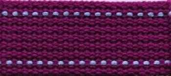 Echino 25mm Webbing - Purple and Periwinkle