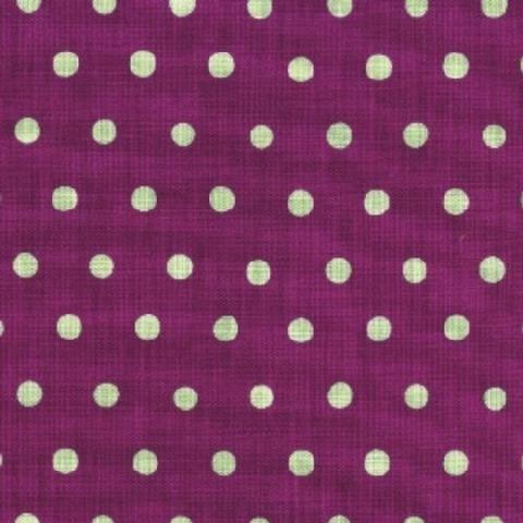 Echino - Dot Dot Dot - Purple and Soft Mint