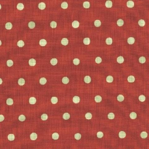 Echino - Dot Dot Dot - Soft Mint on Blood Orange