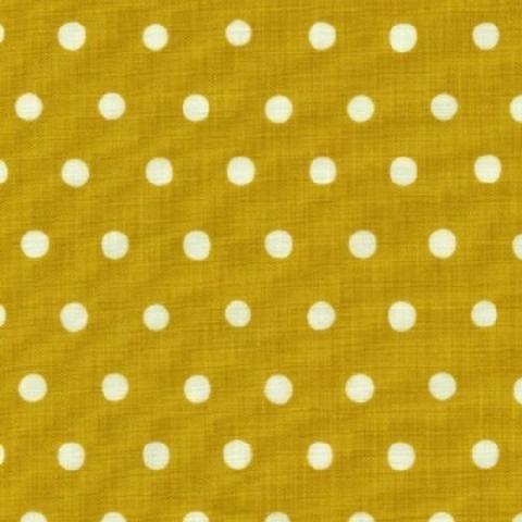 Echino - Dot Dot Dot - White on Lemon