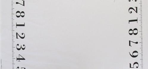 Kokka - Lightweight Canvas - Measurements - White