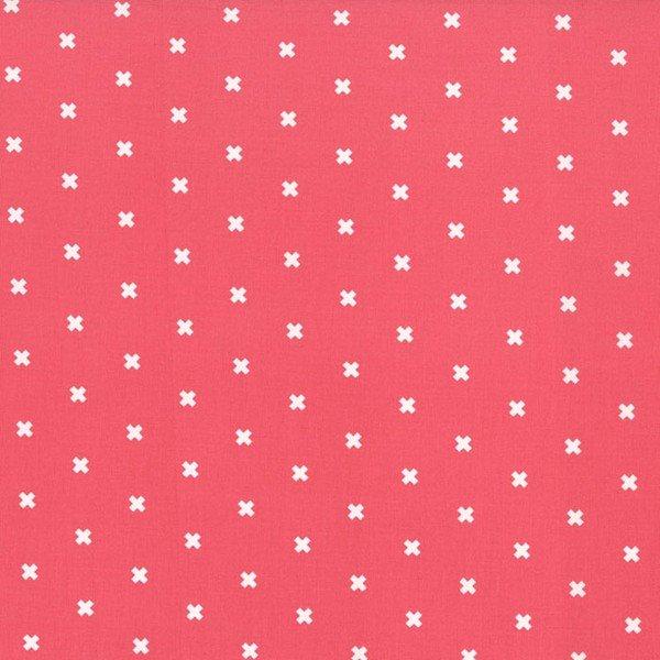 Cotton + Steel - Basics - XOXO - Coral