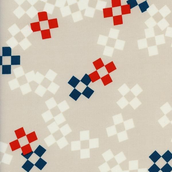 Melody Miller -  Frock Rayon - Pixel Print - Bowling Pin