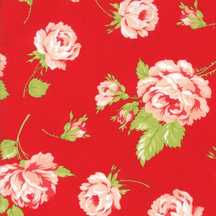 Bonnie & Camille - Smitten Lawn - Red