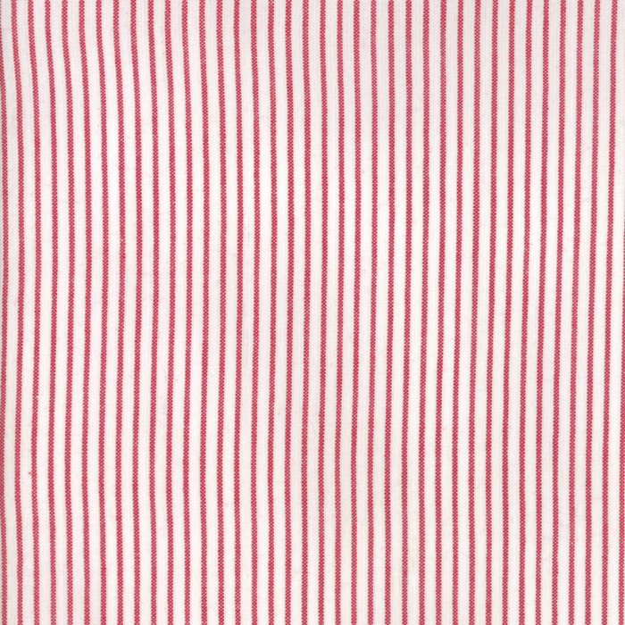 Oxford Wovens - Stripe - Red