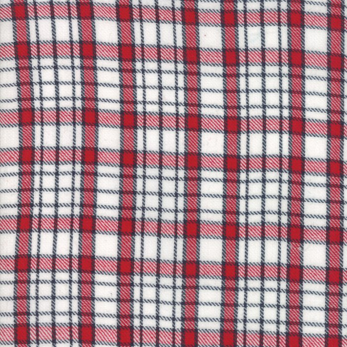 Oxford Wovens - Plaid - Red and Black