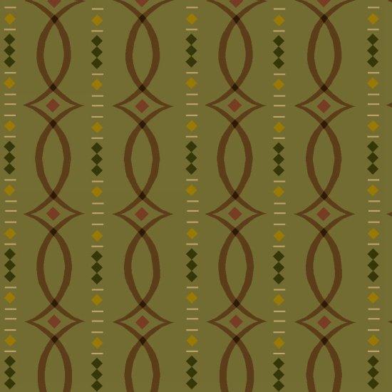 Kim Diehl - Helping Hands - Fancy Stripes Green