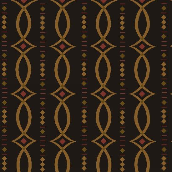 Kim Diehl - Helping Hands - Fancy Stripes Black