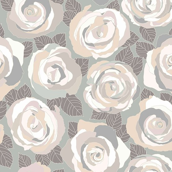 Andover - Mosaic - Mosaic Rose - Stone