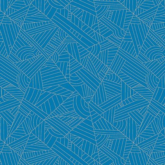 Andover - Mosaic - Lines - Celeste