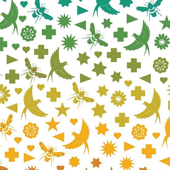 Art Theory - Seventy Six Bird and Bee - Day