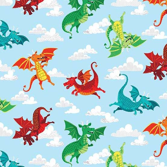 Andover - Dragonheart - Dragons - Blue