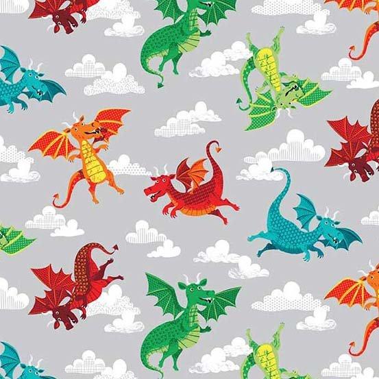 Andover - Dragonheart - Dragons - Gray