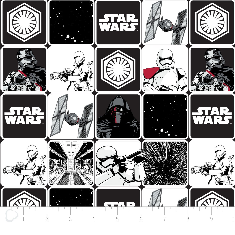 The Force Awakens - Grid - Black
