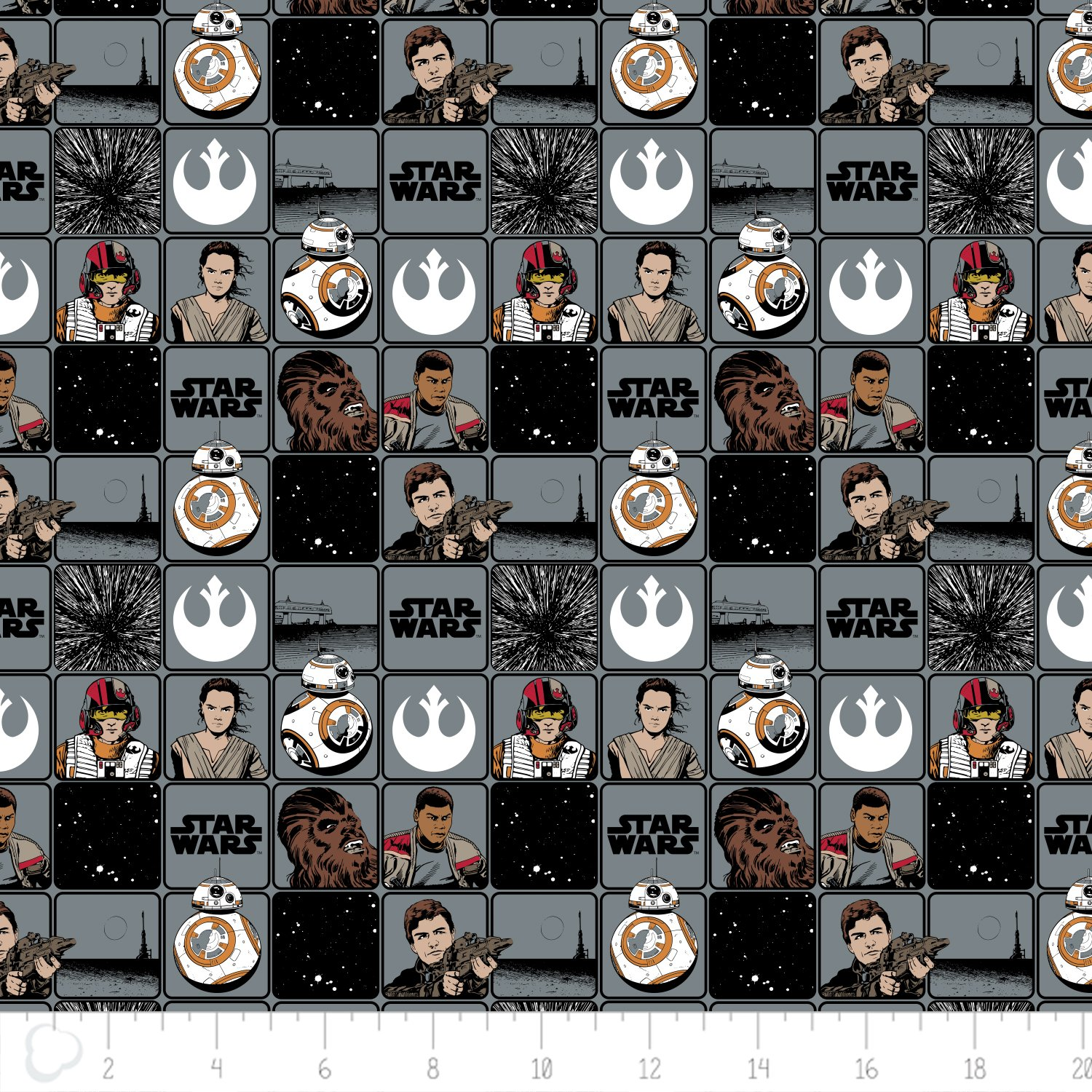 The Force Awakens - Heroes in Squares