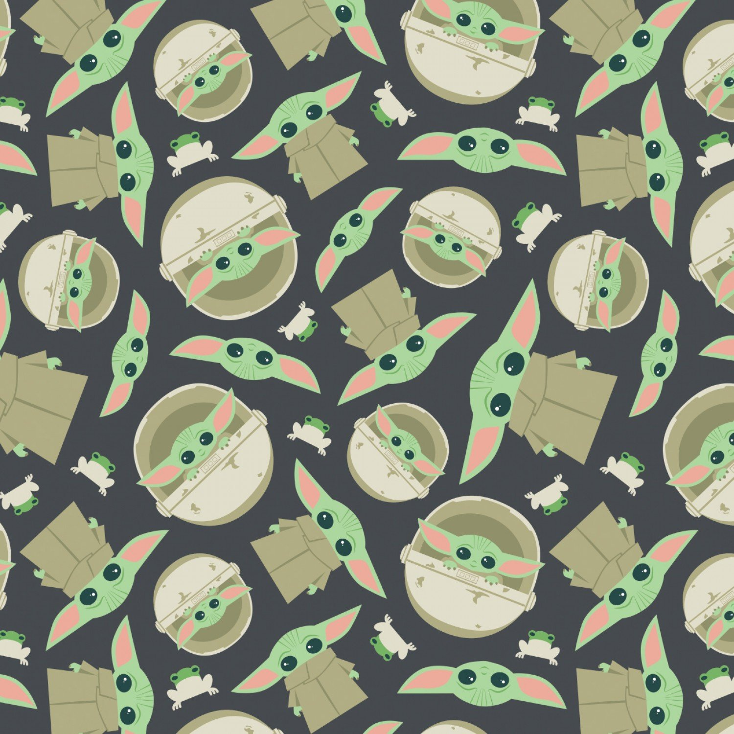 Child and Frog Toss - Flannel