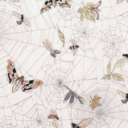 Alexander Henry - Ghastlie Web Natural (white)